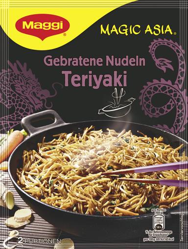 Maggi Magic Asia Gebratene Nudeln Teriyaki