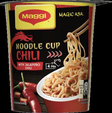 Maggi Magic Asia Noodle Cup Chili
