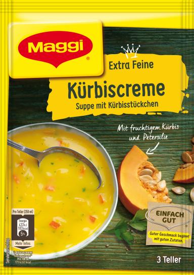 Maggi Extra Feine Kürbiscremesuppe