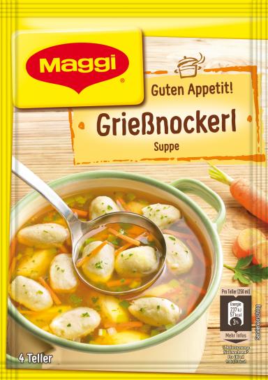 Maggi Guten Appetit Grießnockerlsuppe
