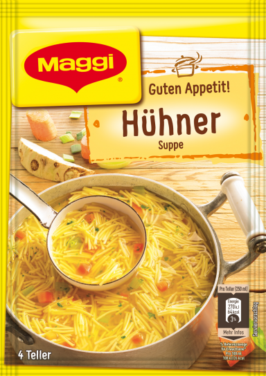 Maggi Guten Appetit Hühnersuppe