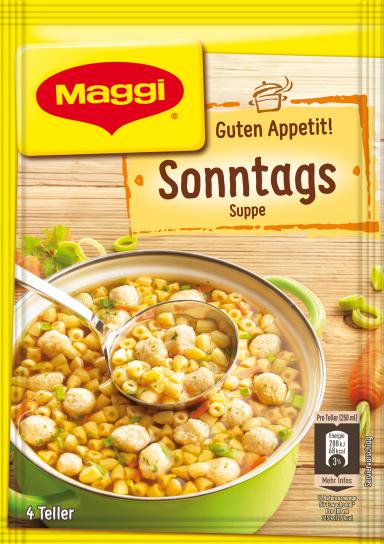 Maggi Guten Appetit Sonntagssuppe