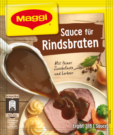 Maggi Sauce für Rindsbraten