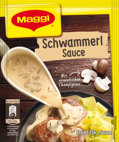 Maggi Schwammerlsauce