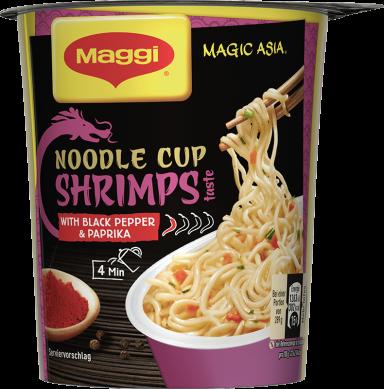 Maggi Magic Asia Noodle Cup Shrimps