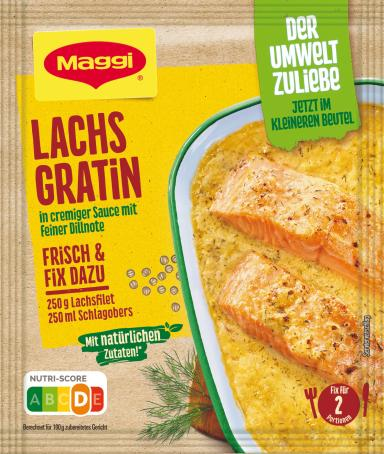 Maggi Fix für Ofen Lachsgratin